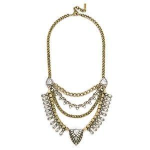 Baublebar Sphynx bib statement necklace